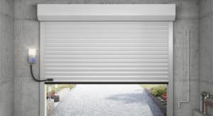 Porte de garage vue intérieure