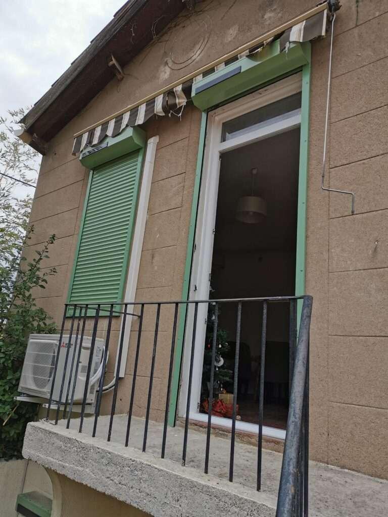 Marseille 11e: volet roulant solaire