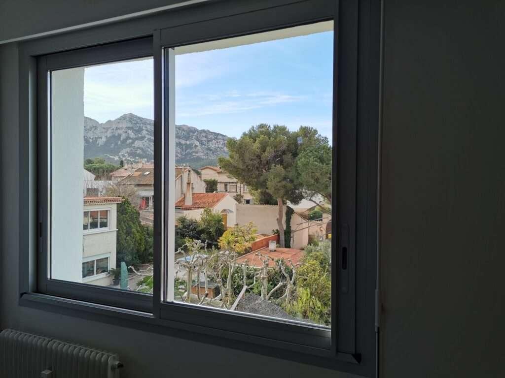 Marseille 8e: fenêtre en aluminium